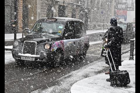 Snow Chancery Lane